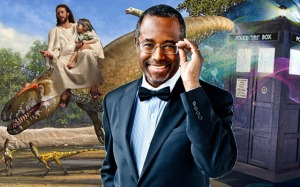 ben-carson-and-evolution-with-tardis-and-jesus-riding-dinosaur