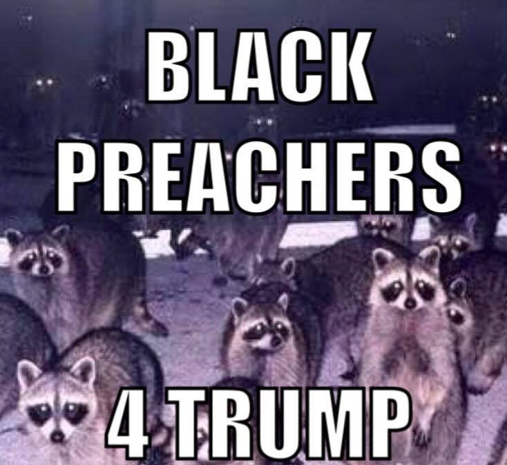 black preachers for trump