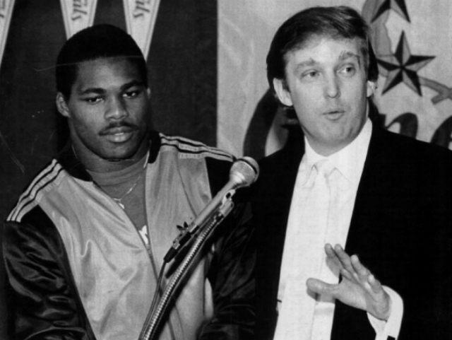 Herschel-Walker-Donald-Trump-Getty